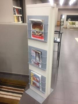 Catalogue Holder για τα προσπέκτους και τα διαφημιστικά φυλλάδια της επιχείρησης σας