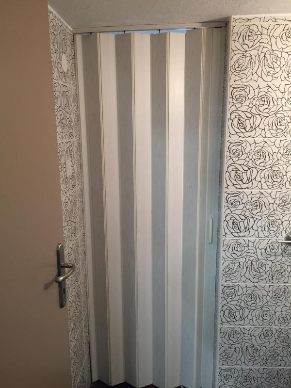 Πόρτα εσωτερικού χώρου φυσούνα συρόμενη σε πολλά χρώματα και διαστάσεις