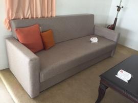 Καναπές-κρεβάτι Έλενα 2.10x0.80 σε διάφορες διαστάσεις και ύφασμα επιλογής σας