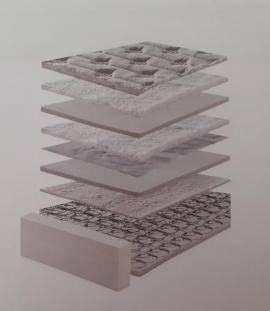 ΕΣΩΤΕΡΙΚΟ ΣΤΡΩΜΑΤΟΣ FLEXY MINIMAL 0.90x2.00 (DREAMWELL)